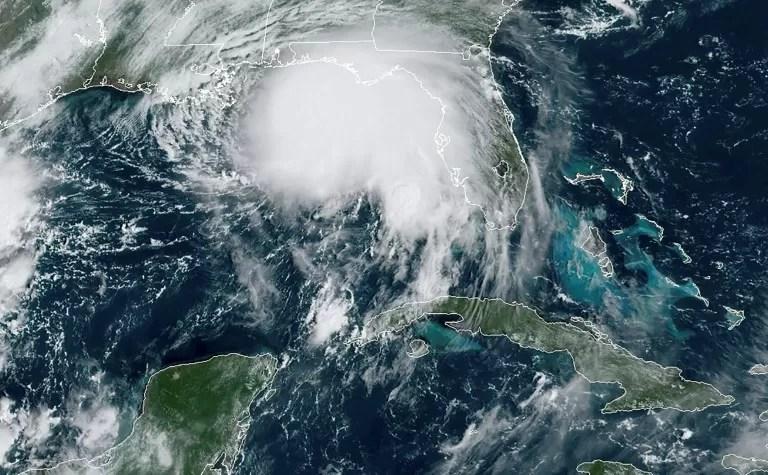 """El """"peligroso"""" huracán Sally se aproxima a la costa sur de EEUU"""
