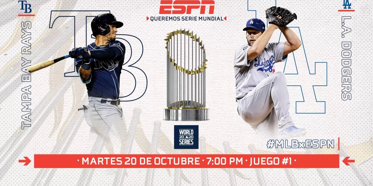 La Serie Mundial 2020 de la MLB va en vivo por ESPN