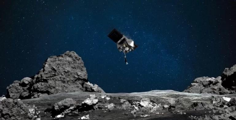 Sonda Osiris-Rex de la NASA entró en contacto con asteroide en misión histórica
