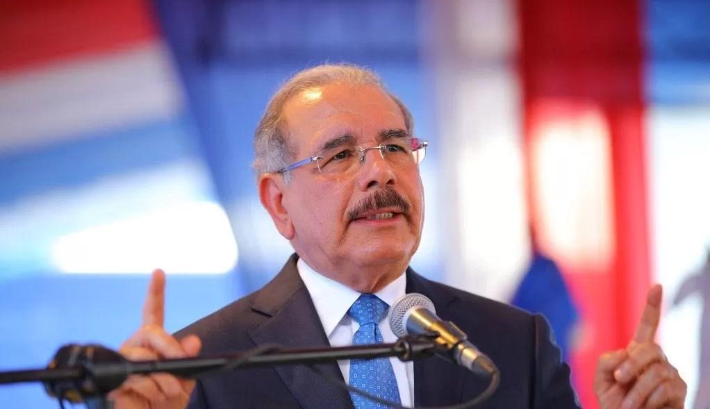 """Danilo Medina afirma que se acabó la """"vagancia"""" en el PLD"""