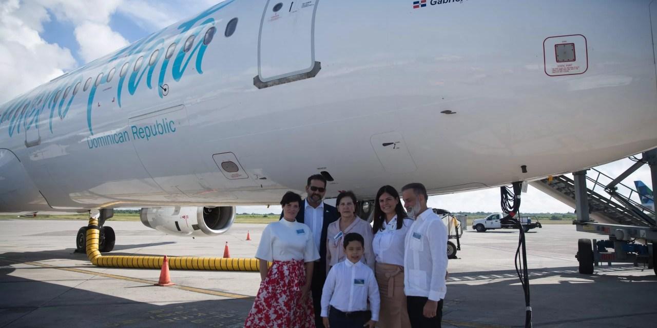Sky Cana y Sky High muestran aeronave A321 a las autoridades de aviación civil