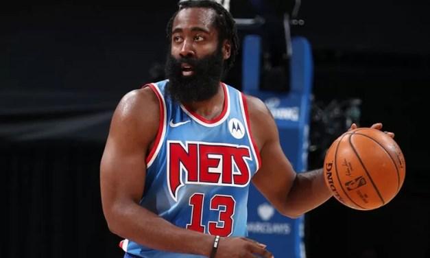 James Harden será baja para el segundo juego de Nets y Bucks