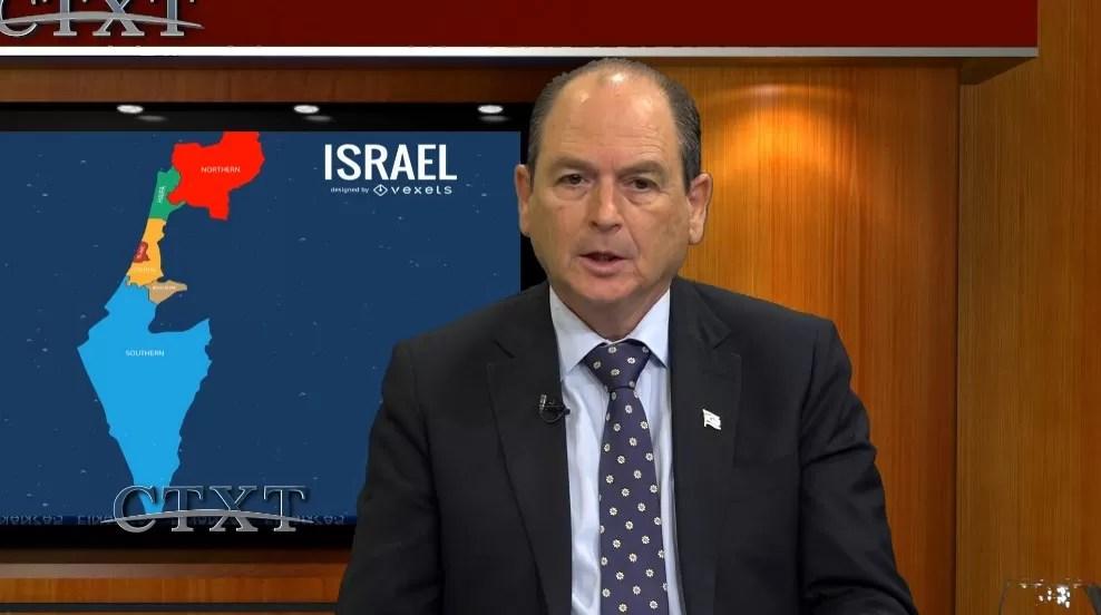 """Embajador de Israel en República Dominicana: """"No hay otra opción que la paz"""""""