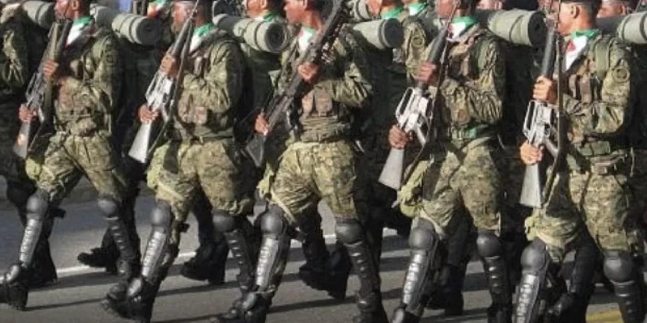 El Ministerio de Defensa publica listado extenso en el que da de baja a decenas de miembros del Ejército