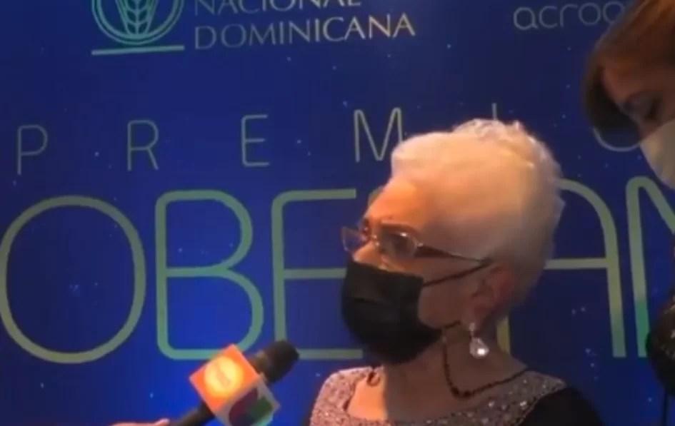 María Cristina Camilo pensó que había ganado el Gran Soberano