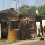 Se quemó el cuartel de la Armada en la isla Beata, dos personas sufren quemaduras