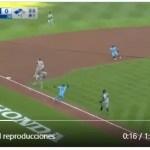 Video – Triple play 1-3-6-2-5-6, el más raro y el primero de ese tipo