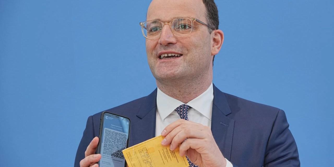 Certificado digital de vacunación es lanzado gradualmente en Alemania