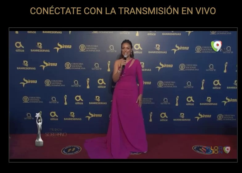 Transmisión en vivo Premios Soberano 2021