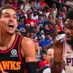 Los Hawks hunden a los Sixers al eliminarles en su propia cancha