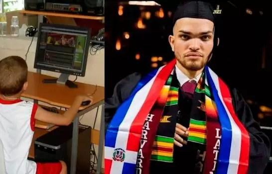 Oriundo de Tenares se gradúa de Harvard a los 20 años