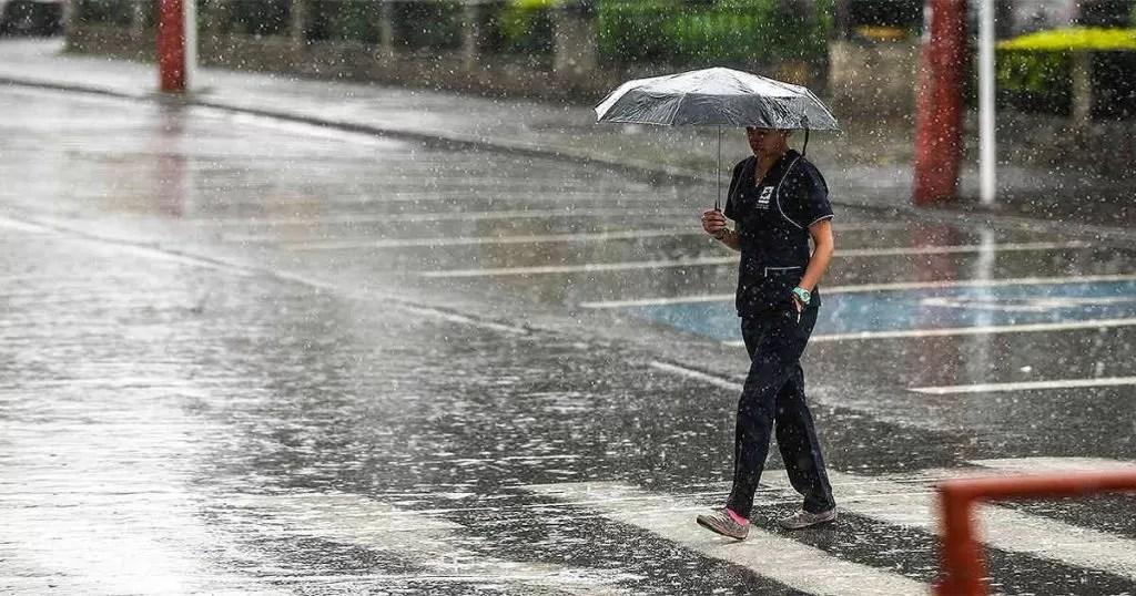 Vaguada y onda tropical generarán aguaceros sobre el país