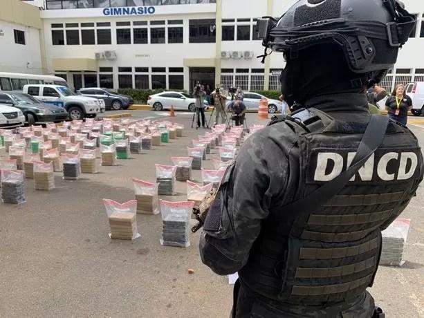 Ocupan 862 paquetes de cocaína en puerto Caucedo