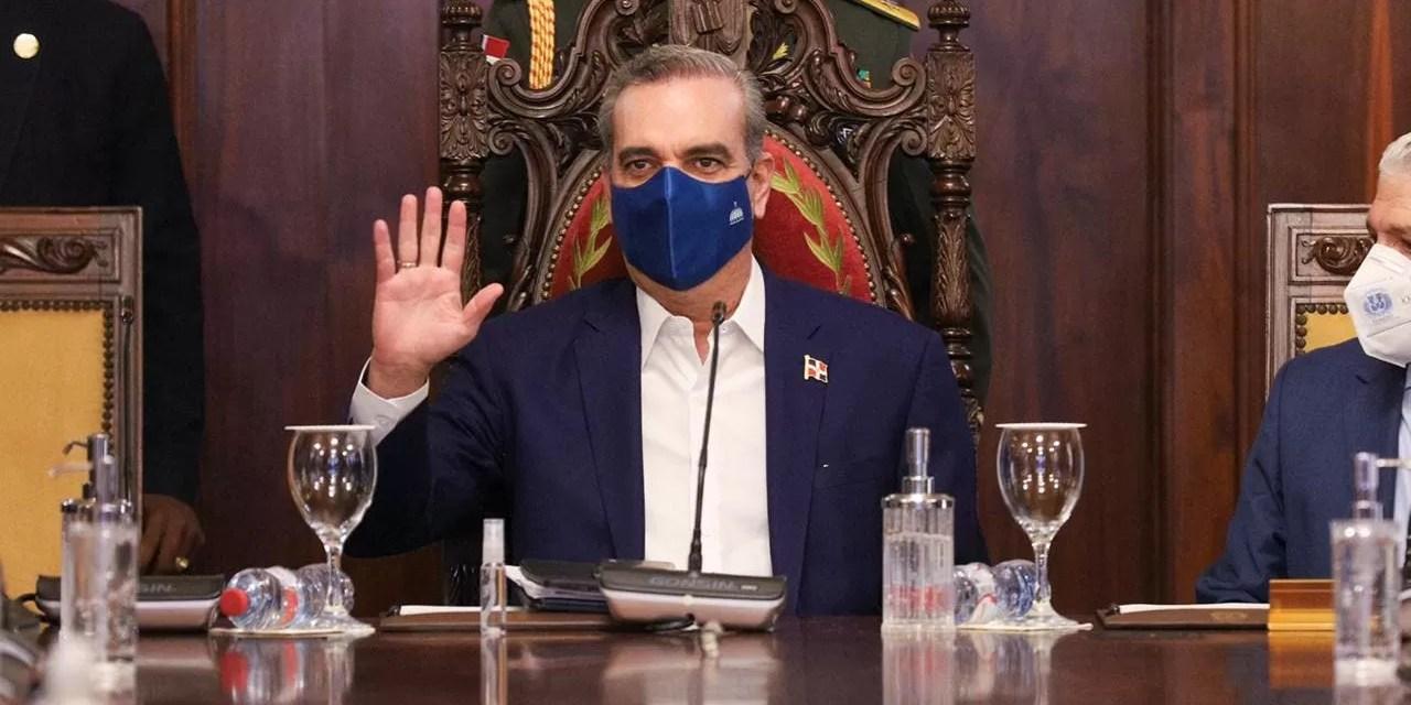 Abinader encabeza Consejo de Gobierno en el Palacio Nacional