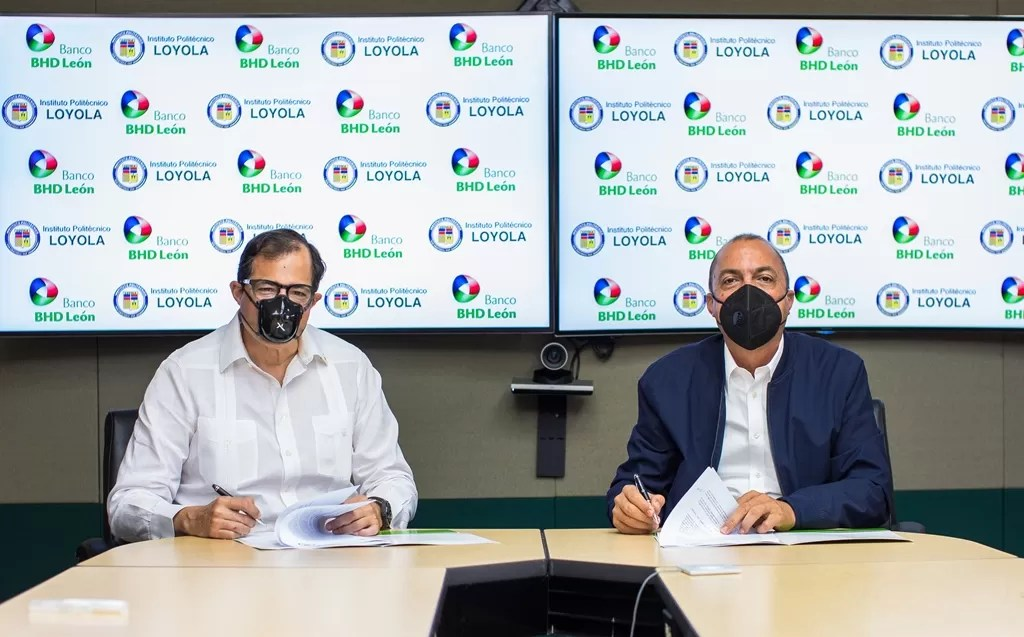 El Banco BHD León y el Instituto Politécnico Loyola  firman acuerdo  para impulsar las mipymes dominicanas