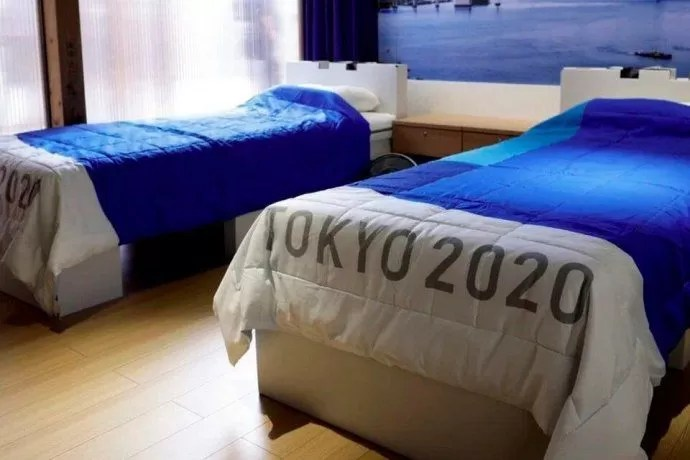 "Así son las camas ""anti sexo"" diseñadas para atletas que participarán en Juegos Olímpicos de Tokio"