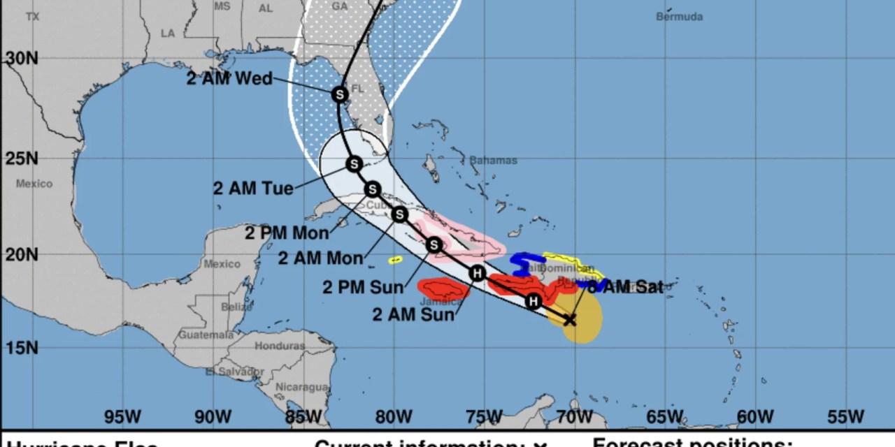 El huracán Elsa pierde fuerza