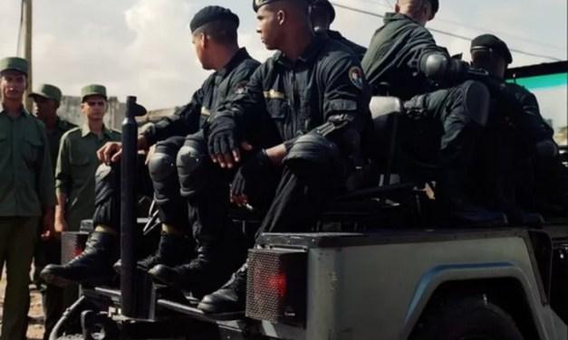 """Los """"boinas negras"""", el temible escuadrón élite para reprimir a los manifestantes en Cuba"""