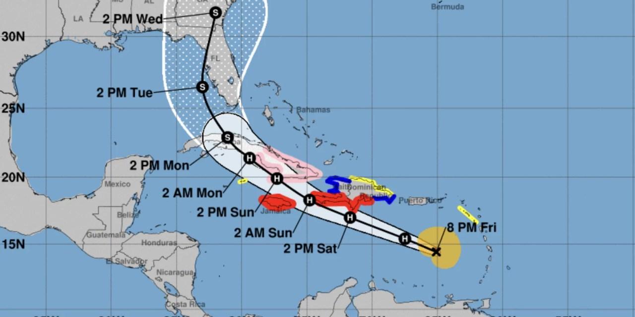 Gobierno activa comité de emergencia ante el paso del huracán Elsa
