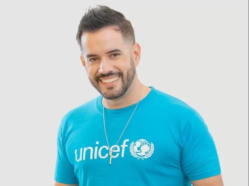 Manny Cruz es nombrado nuevo Embajador Nacional de Buena Voluntad por UNICEF