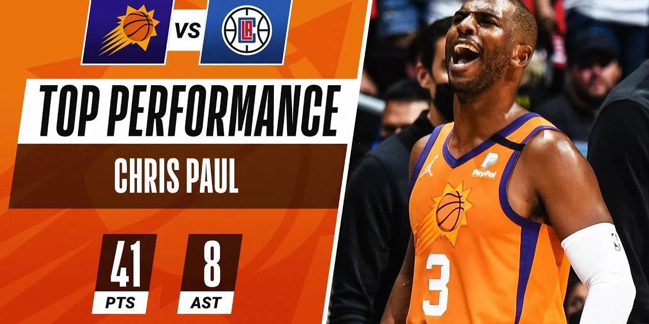 Chris Paul lleva a los Phoenix Suns a sus primeras Finales desde 1993