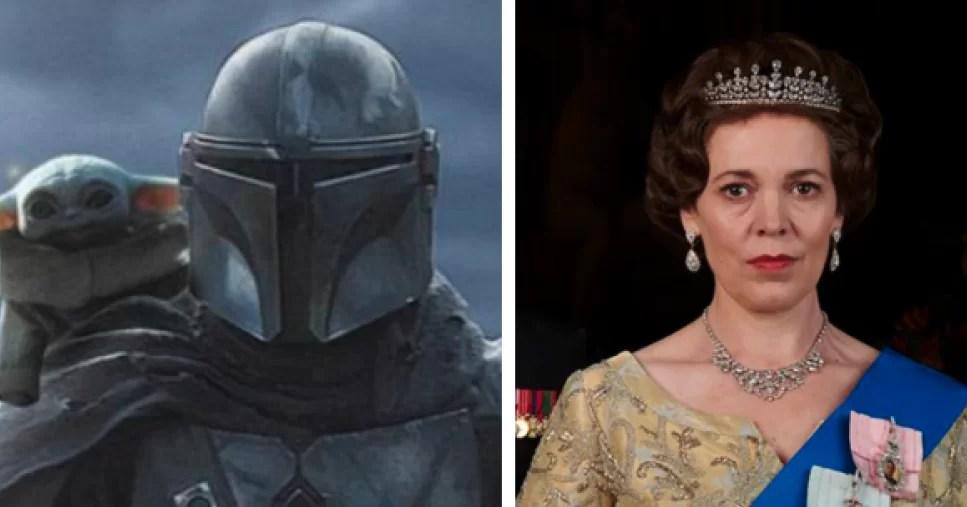 """""""The Crown"""" y """"The Mandalorian"""" lideran carrera de los Emmy"""