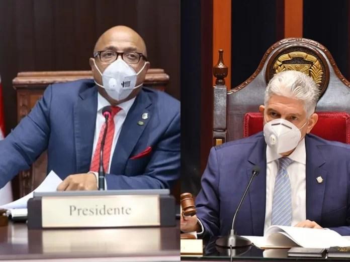 Pacheco y Estrella repetirían en presidencia de las cámaras legislativas