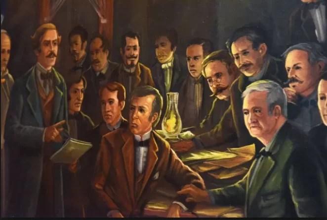Hoy es el 183 aniversario de la fundación Sociedad Secreta La Trinitaria