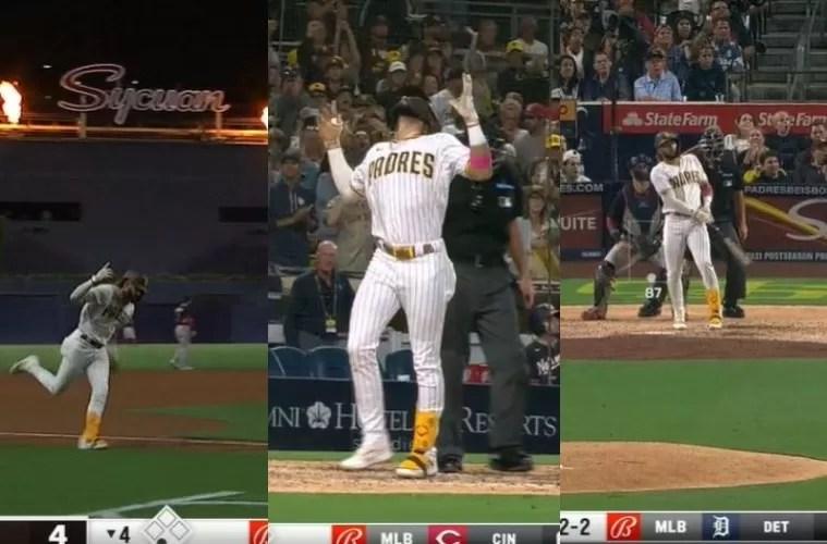 Video: Fernando Tatis Jr. da jonrón 27 de la temporada