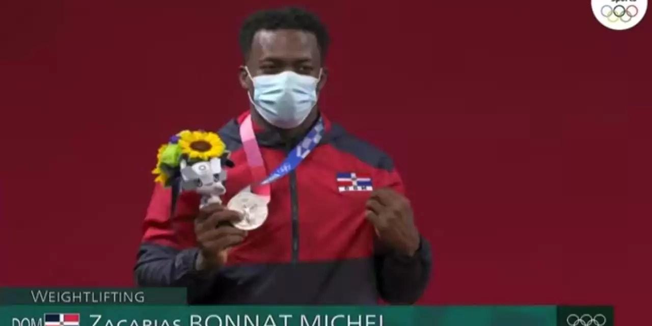 Zacarías Bonnat da primera medalla a República Dominicana en en los Juegos de Tokio-2020