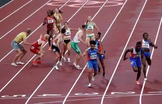Otra medalla de plata para RD; relevo 4×400 logra el segundo lugar en Tokio 2020