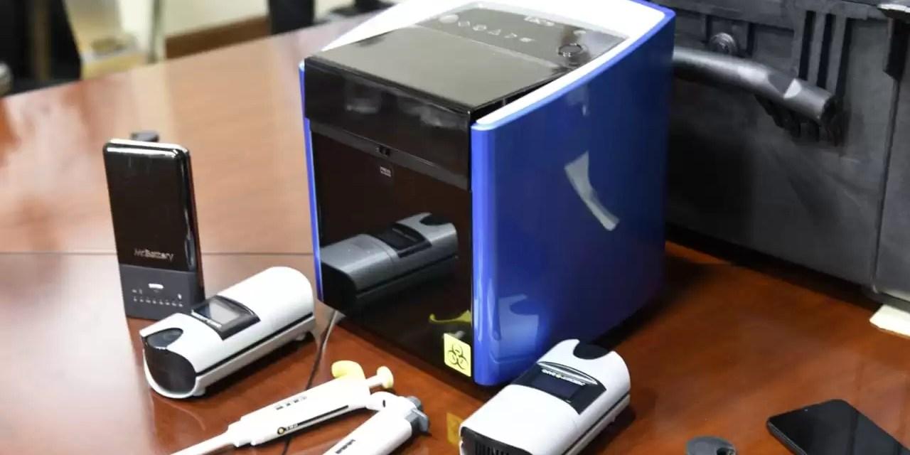 Gobierno adquiere  un equipo portátil que detecta la fiebre porcina africana