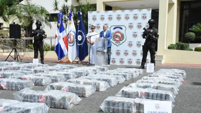 Ocupan 900 paquetes cocaína próximo a costas de Boca Chica