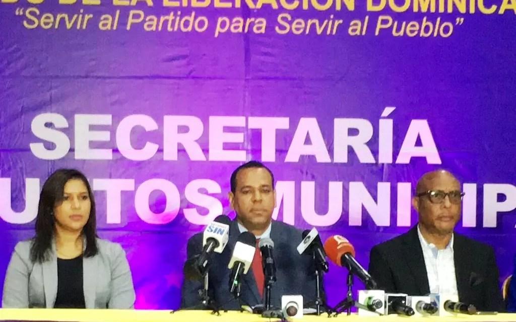 PLD reclama a Liga Municipal Dominicana trato igualitario a los ayuntamientos