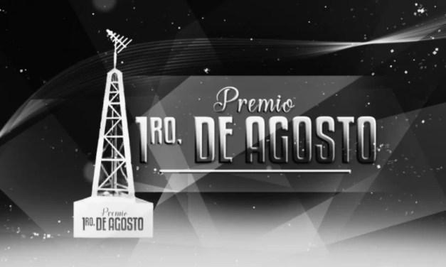 Lista de ganadores de Premios 1º de Agosto