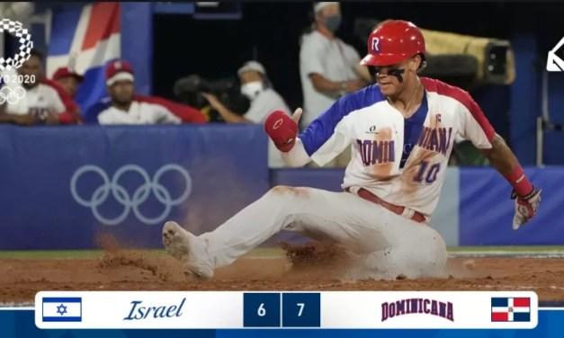 José Bautista da vida a RD en triunfo 7×6 ante Israel en el béisbol olímpico