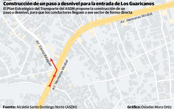 ¡La solución para el tránsito de Santo Domingo Norte!