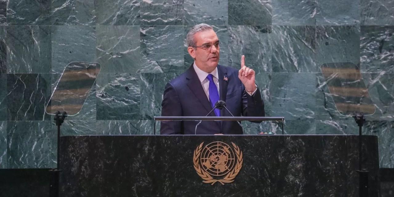 Abinader pide a la comunidad internacional no abandonar a Haití