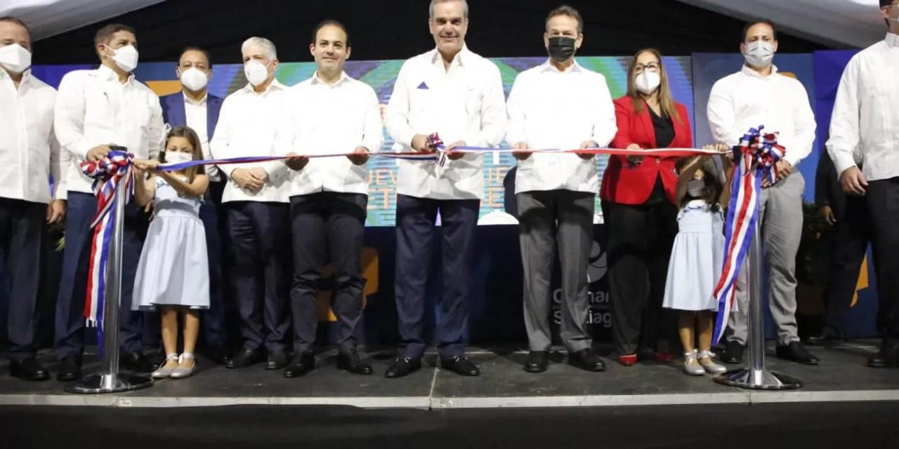 Abinader lanza proyecto Santiago 2025 por RD$42 mil millones en 4 años