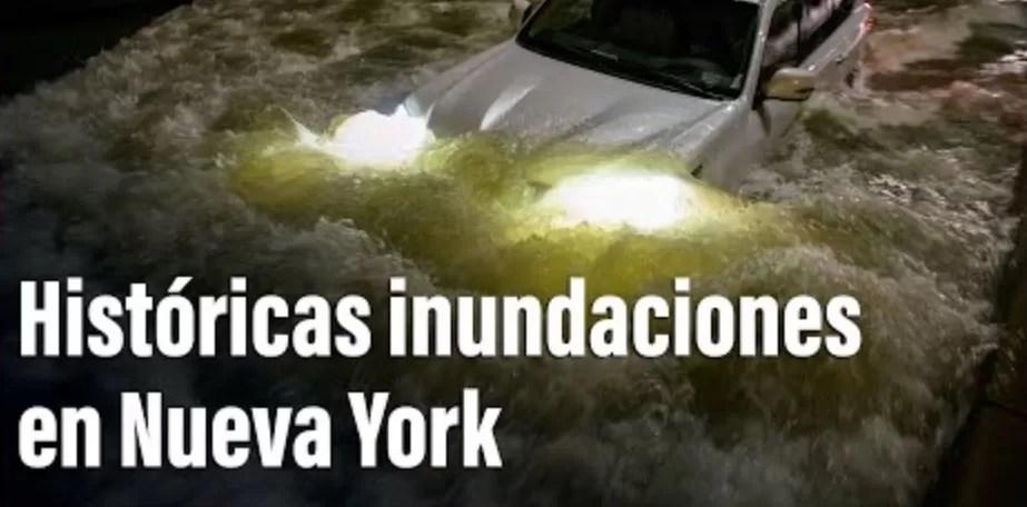 Ida causa deja al menos 17 muertos en Nueva York y alrededores
