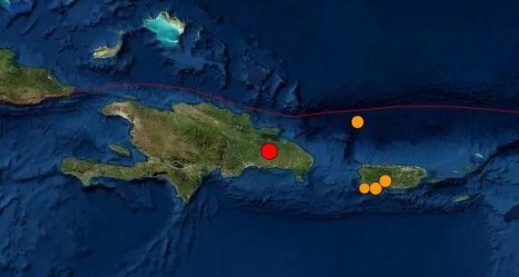 Temblor de tierra de 4.5 sacude a Santo Domingo