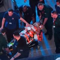 Boxeador dominicano Lenin Castillo hospitalizado tras nocáut brutal