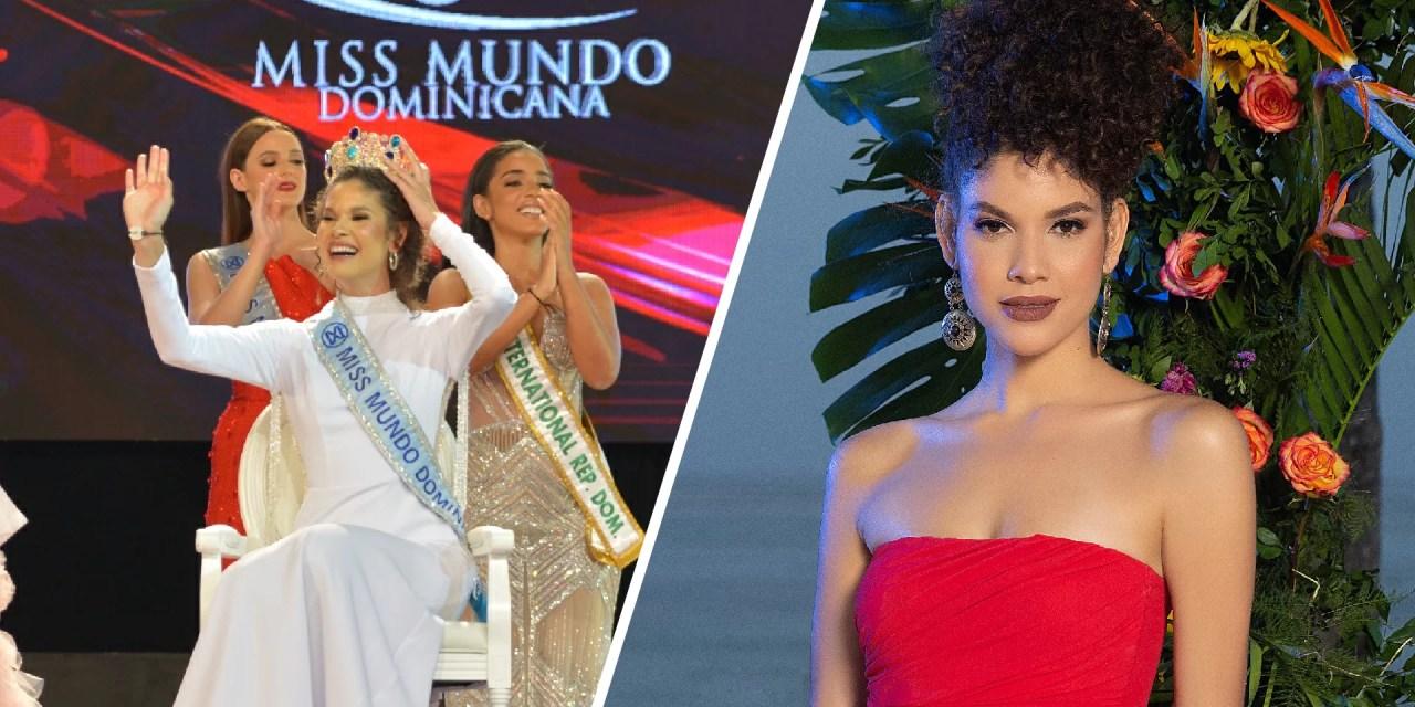 Coronan a Emmy Peña como la nueva Miss Mundo Dominicana 2021