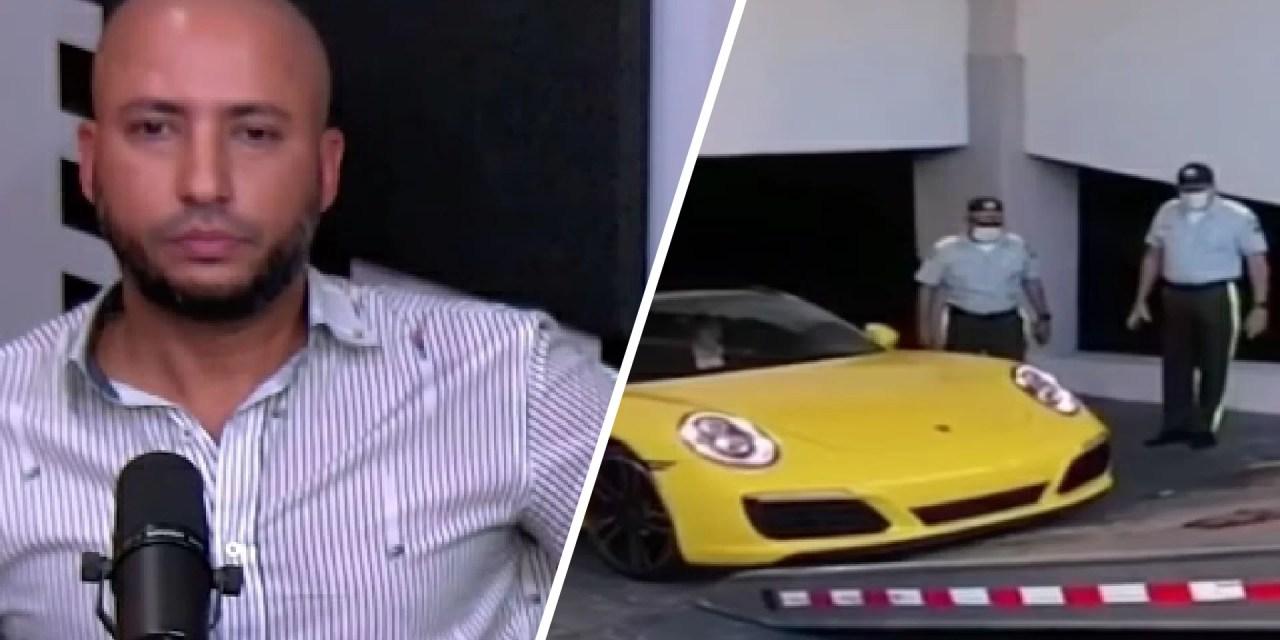 Dueño del Porsche se arrepiente y revela lo entregó de forma voluntaria a la Digesett