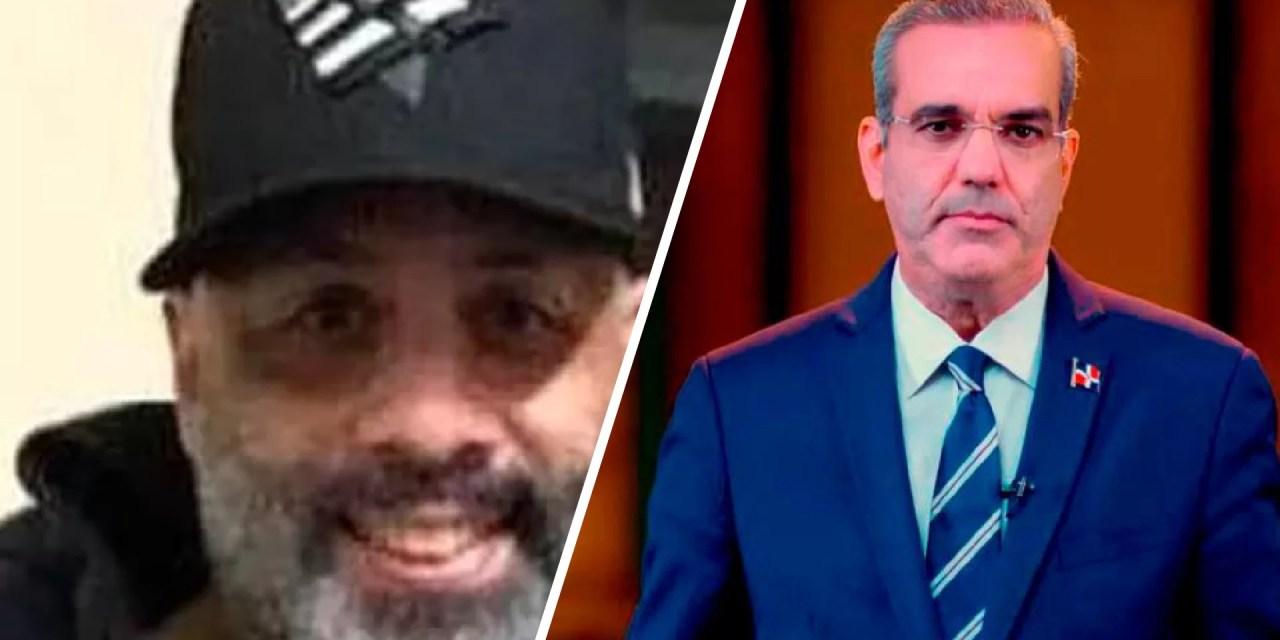 Apresan a hombre que amenazó de muerte a Luis Abinader