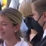 Video: Las emotivas palabras de la hija de Leslie Rosado en su último adiós