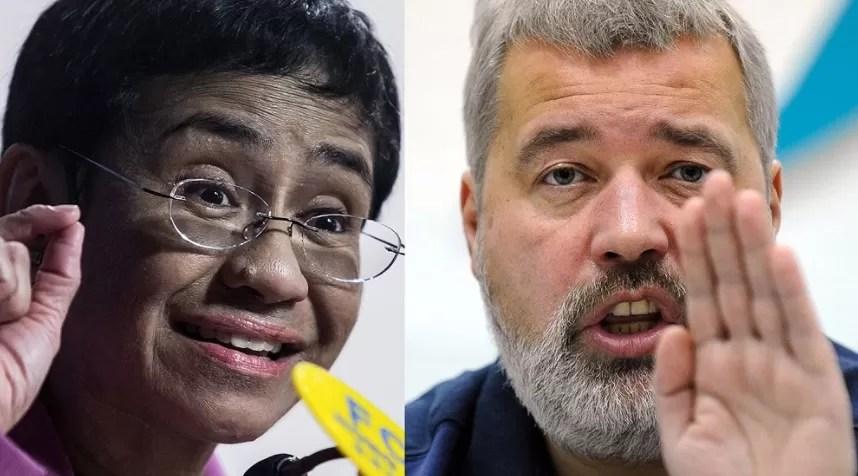 Los periodistas Maria Ressa y Dimitri Muratov ganan el Nobel de la Paz