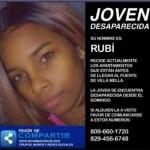 Rubí está desaparecida desde el pasado domingo