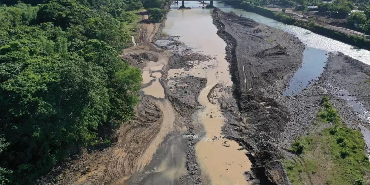 Medio Ambiente interviene río Yuna en Bonao tras comprobar irregularidad en readecuación