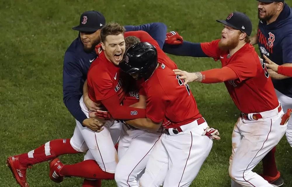 Boston derrota a Rays y pasan a Serie de Campeonato
